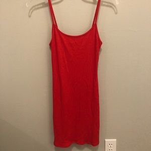BRAND NEW Urban Outfitters Ribbed Bodycon Dress
